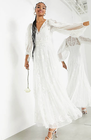 Top 10 Best Wedding Dresses Under £500 in the UK 2021 (ASOS, Monsoon and More) 5