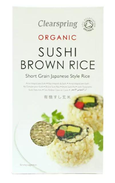 Clearspring Organic Brown Sushi Rice 1
