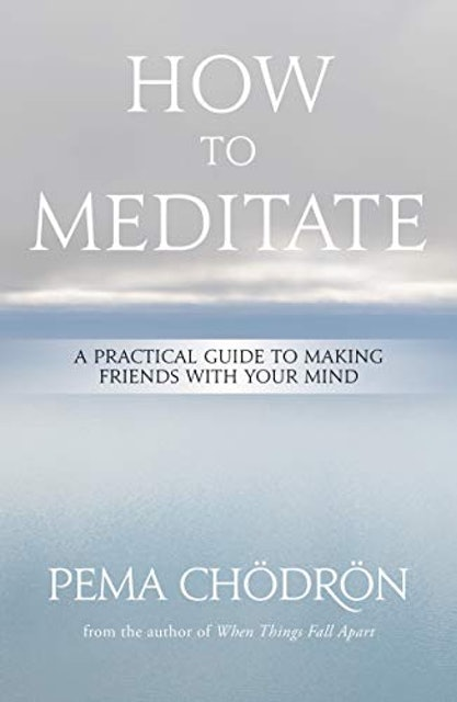 Pema Chodron How to Meditate: A Practical Guide to Making Friends with Your Mind 1