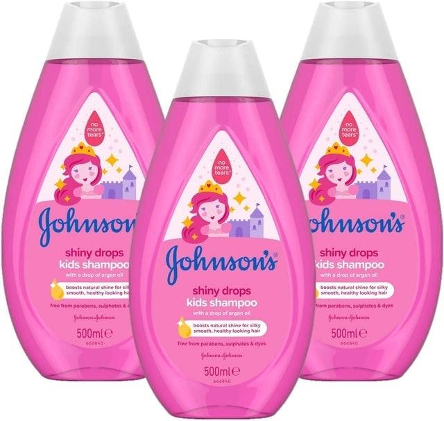 Johnson's Shiny Drops Kids Shampoo 1