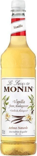 Monin Premium Vanilla Syrup 1
