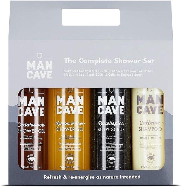 ManCave  4 Signature Shower Products  1