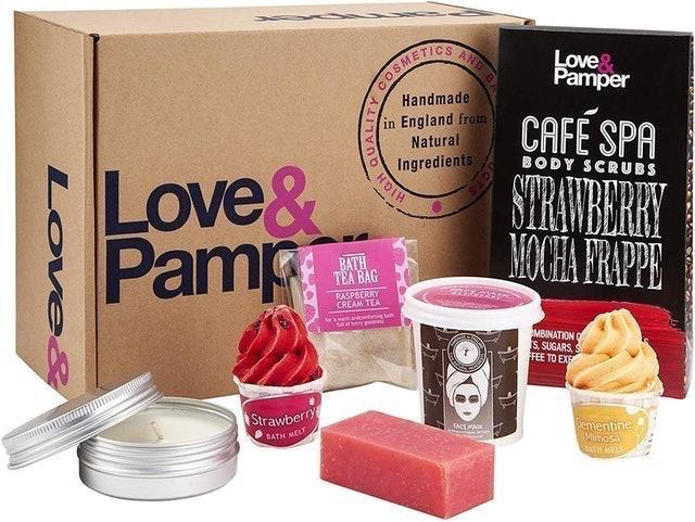 Love and Pamper Pampering Bath Botanical Spa Gift Set 1