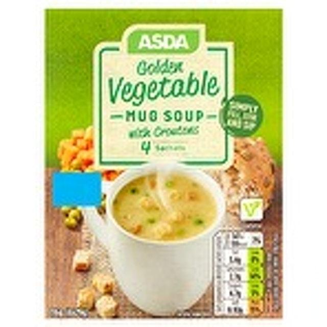 ASDA Golden Vegetable Mug Soup 1