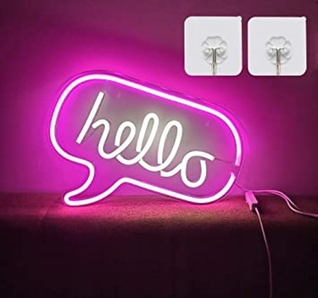 Soviyas LED Neon Wall Sign 1