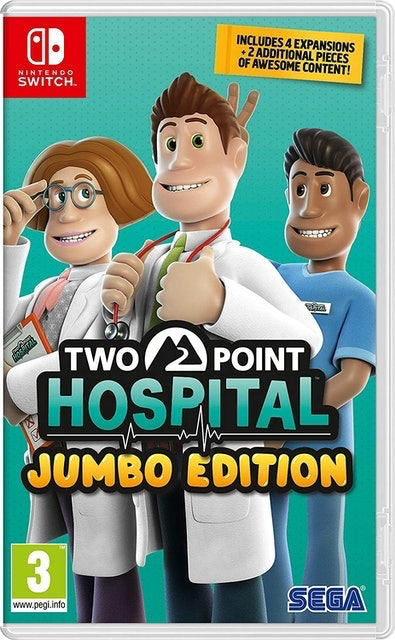 Sega Two Point Hospital Jumbo Edition 1