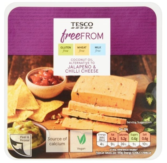 Tesco Free From: Coconut Oil Alternative 1