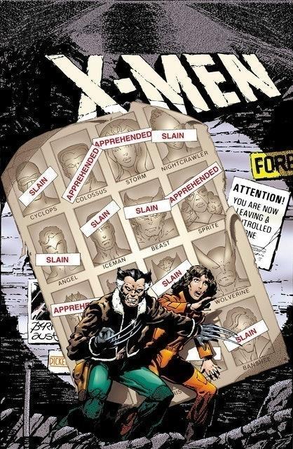 Chris Claremont, et al. X-Men: Days of Future Past 1