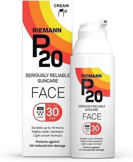 Riemann P20  Sun Cream for Face SPF 30  1