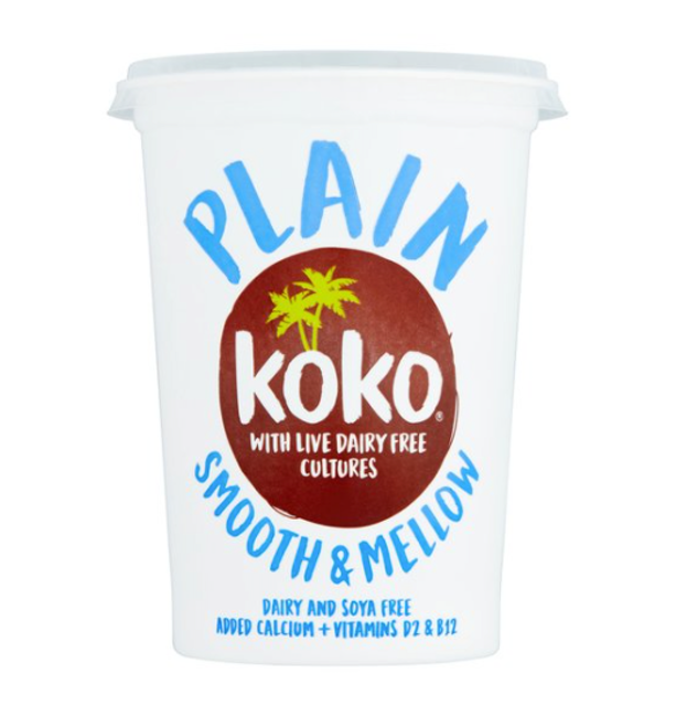Koko Dairy Free Plain Yogurt Alternative With Live Cultures 1