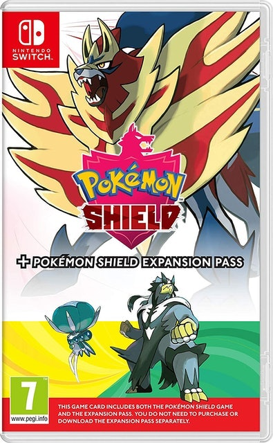 Game Freak Pokémon Shield + Expansion Pass 1