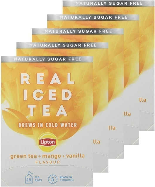 Lipton Cold Brew Individual Real Iced Teabags 1