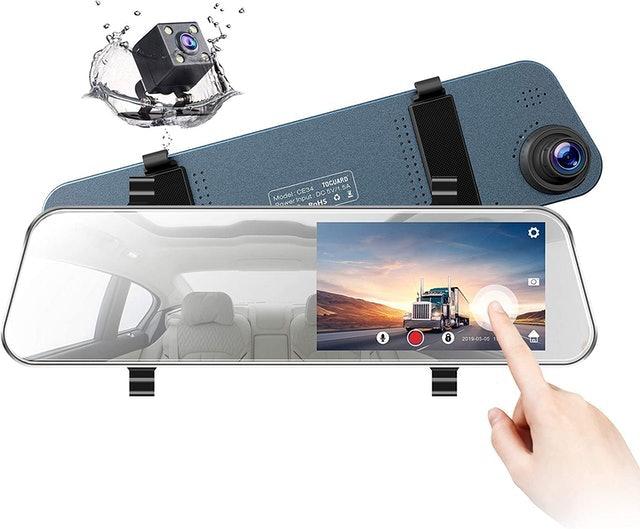 TOGUARD Mirror Dash Cam and Backup Camera 1