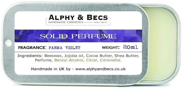 Alphy and Becs Natural Solid Perfume 1