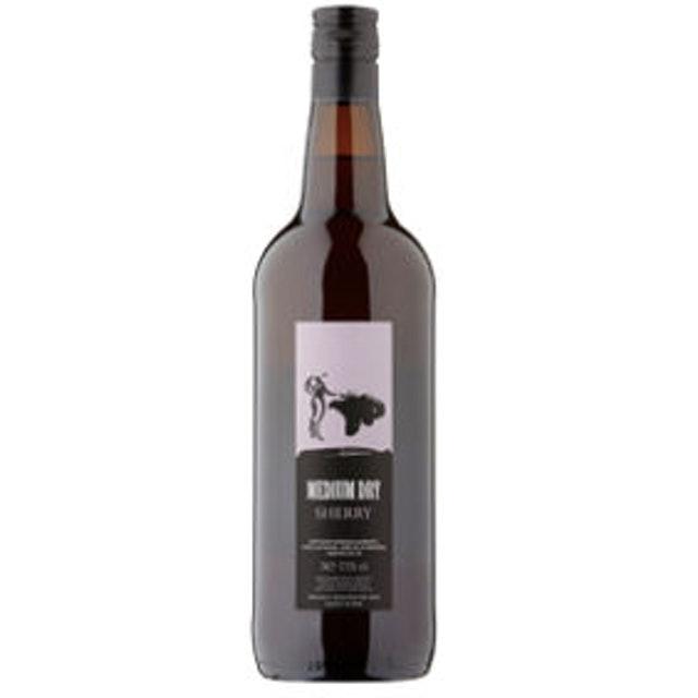 Asda Amontillado Sherry 1
