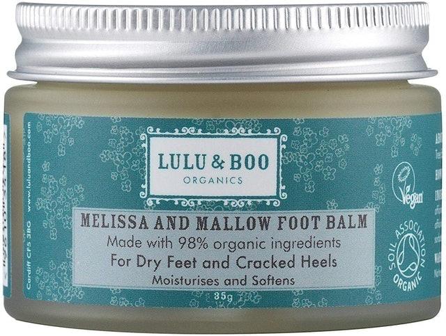 Lulu & Boo Organics Melissa & Mallow Foot Balm 1