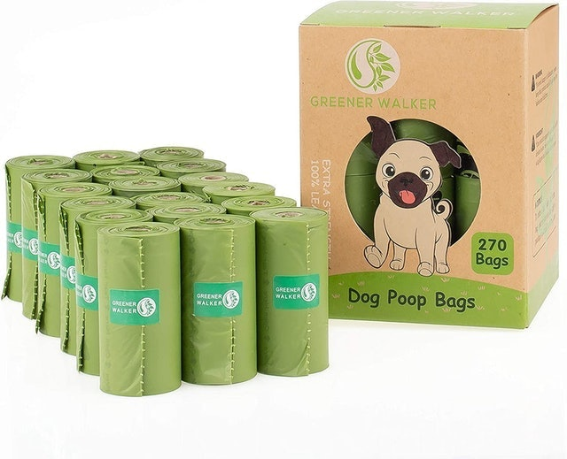 Greener Walker 100% Leak Proof Biodegradable Dog Poo Bags 1