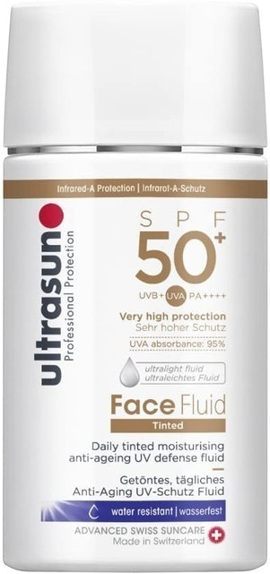Ultrasun Face Fluid Tinted Moisturiser  1