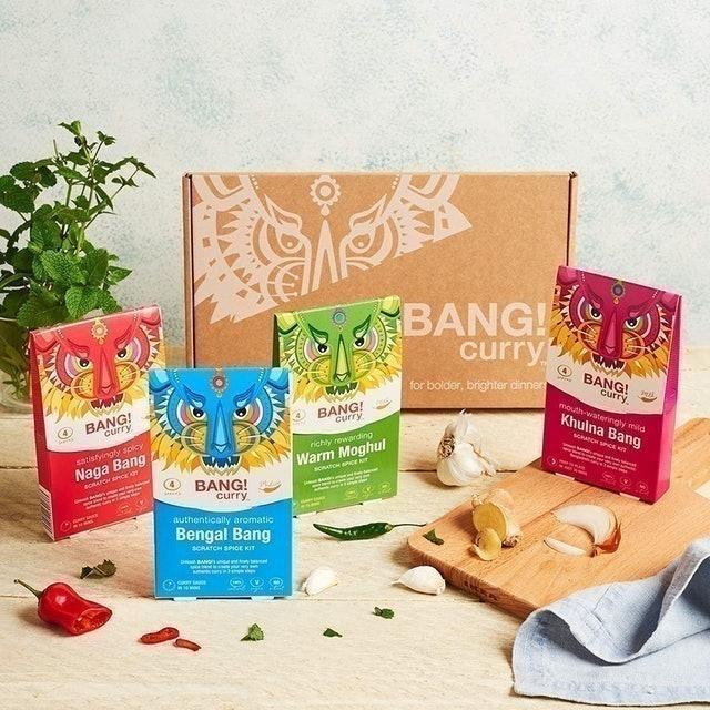 Bang! Curry  Bang! Curry Kits + Recipe E-Book 1