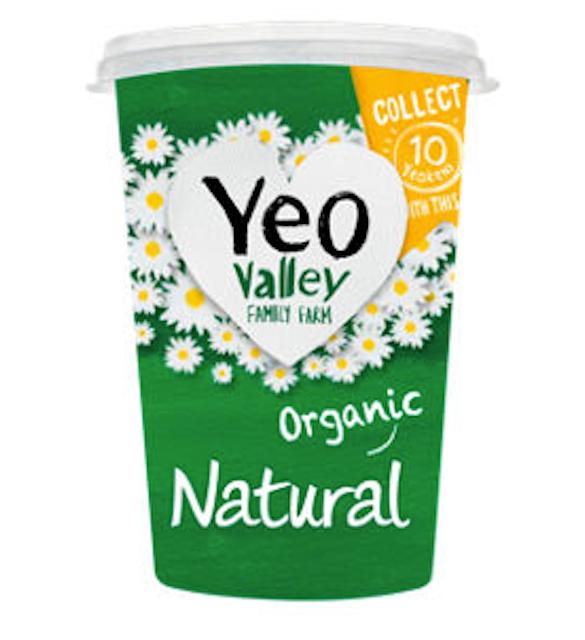 Yeo Valley Family Farm Natural Organic Yogurt 1