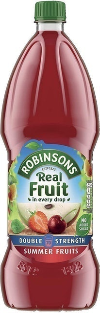 Robinsons Double Strength Summer Fruits 1