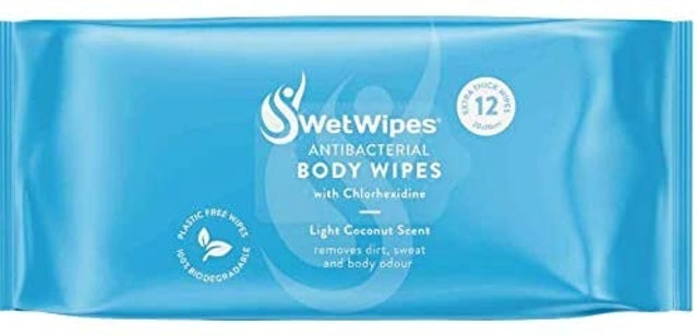 SwetWipes Extra Large Antibacterial Hand Wipes 1