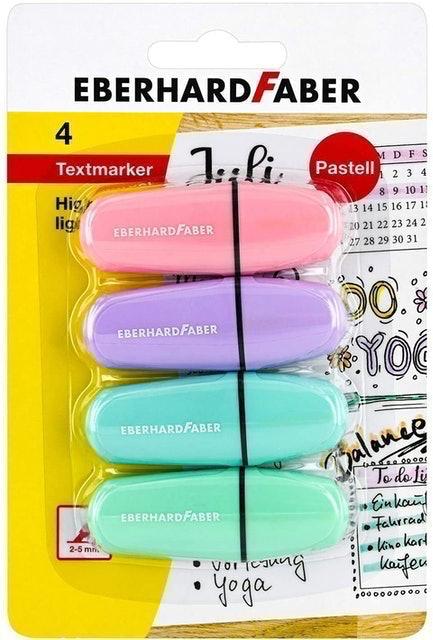 Eberhard Faber Chisel Tip Pastel Colours 1