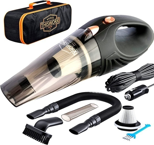 This Workx Car Vacuum Cleaning Kit 1