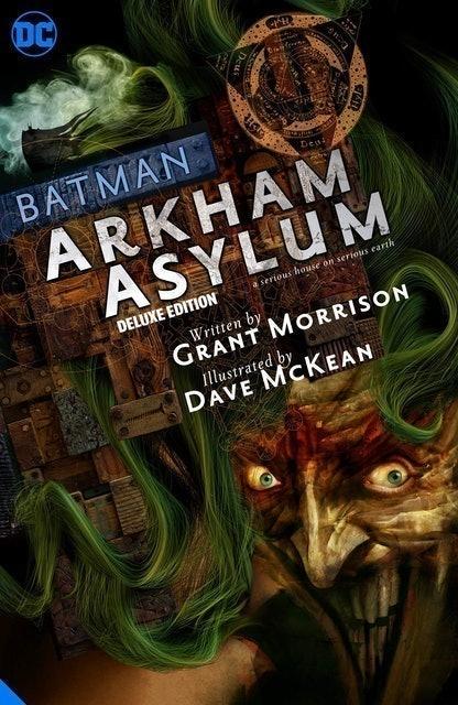 Grant Morrison and Dave McKean Batman: Arkham Asylum (Deluxe Edition) 1