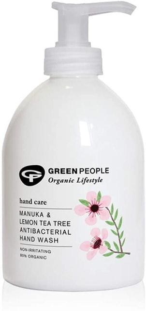 Green People Manuka and Lemon Tea Tree Antibacterial Hand Wash 1
