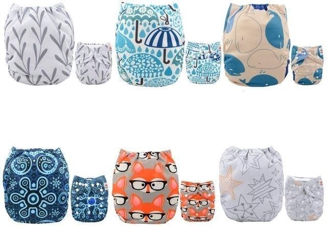 Alva Baby Pocket Cloth Nappies 1