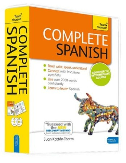 Teach Yourself Complete Spanish Book & CD Pack 1