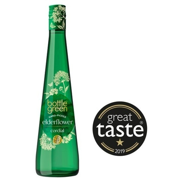 Bottle Green Elderflower Cordial 1