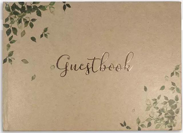 John Lewis & Partners Kraft Guestbook 1
