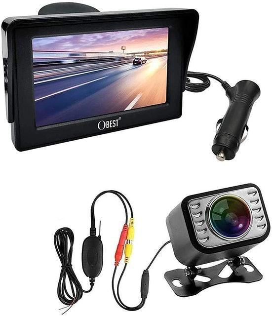"OBEST Wireless Reversing Camera and 4.3"" Monitor Kit  1"