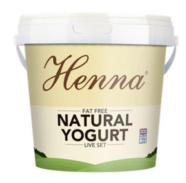 Henna Natural Live Set Very Low Fat Yogurt 1