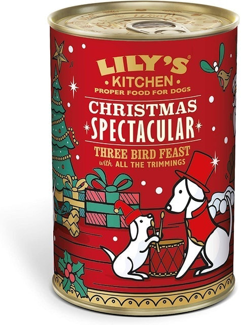 Lily's Kitchen Christmas Spectacular Three Bird Feast with all the Trimmings  1