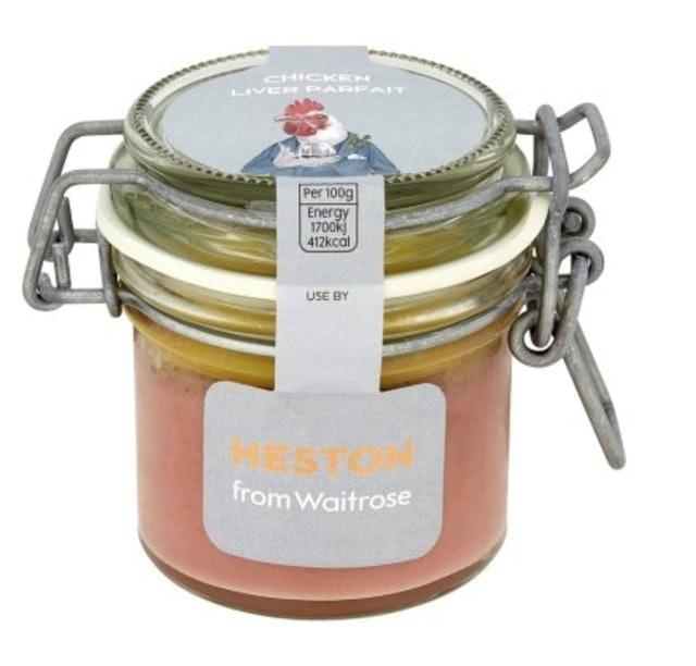 Waitrose Heston Chicken Liver Parfait 1