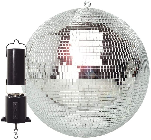 FX Lab  Lightweight Mirror Ball With Revolving Motor 1