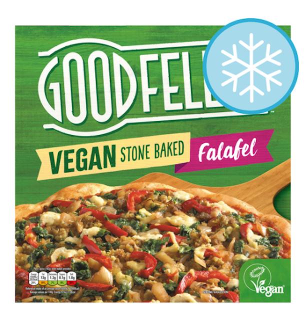 Goodfella's  Vegan Stonebaked Falafel Pizza 1
