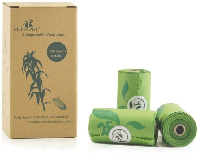 PET N PET Compostable Dog Poo Bags 1