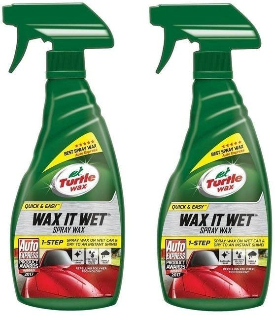 Turtle Wax Wax It Wet Spray 1