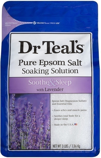 Dr Teal's Pure Epsom Salt Soothe and Sleep With Lavender 1