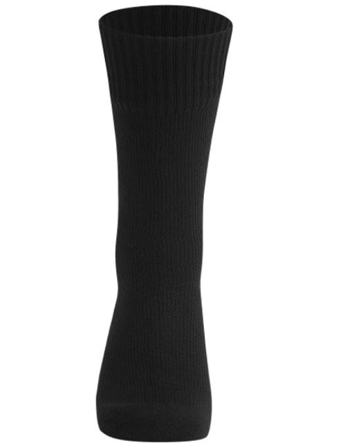 The Lost Peak  100% Waterproof Crew Length Black Socks  1