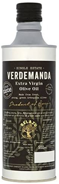 Belazu  Verdemanda Extra Virgin Olive Oil 1