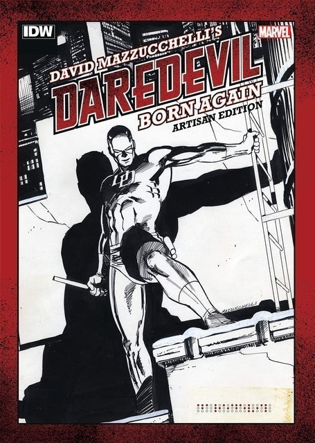 Frank Miller and David Mazzucchelli Daredevil: Born Again (Artisan Edition) 1