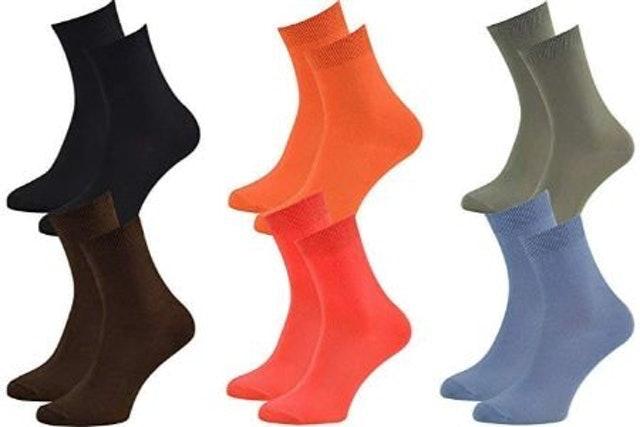 Rainbow Socks Classic Ankle Bamboo Socks  1