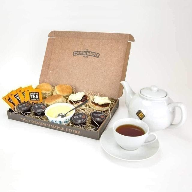 The Cornish Hamper Store Cornish Cream Tea Postal Hamper 1