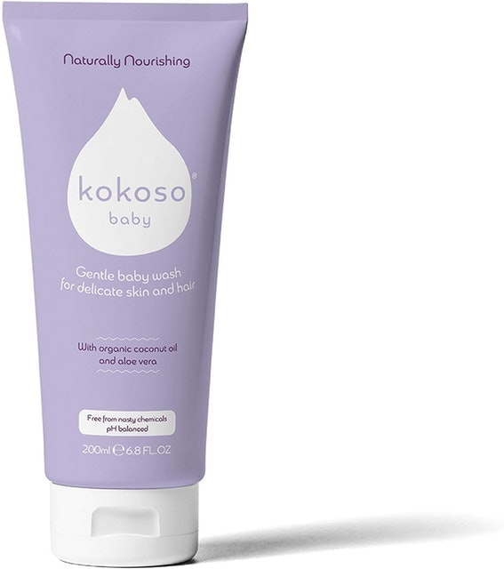 Kokoso Baby Wash for Delicate Skin and Hair 1