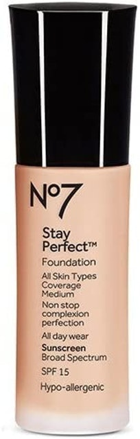 No7  Stay Perfect Foundation 1